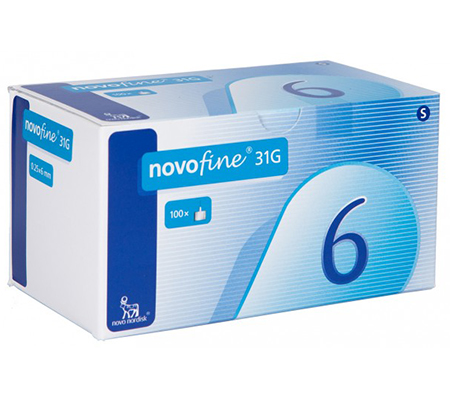 Novofine 6 mm - 31G