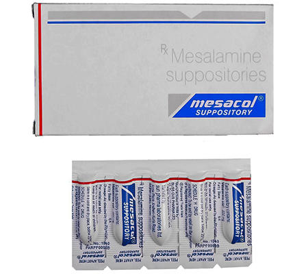 Mesacol Suppository 500 mg