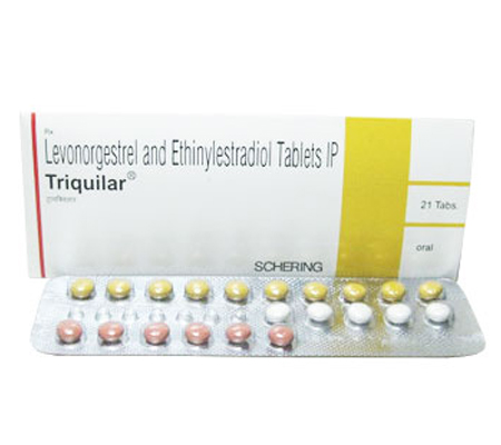 Triquilar 0.1 mg / 0.02 mg