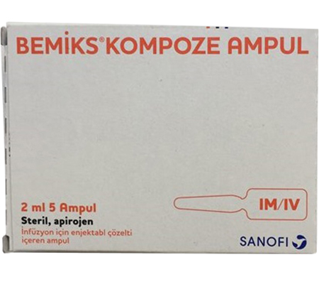 Bemiks (Vitamin B Complex) 2ml